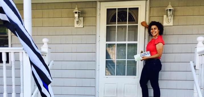 Door Knocking: The Political Workout